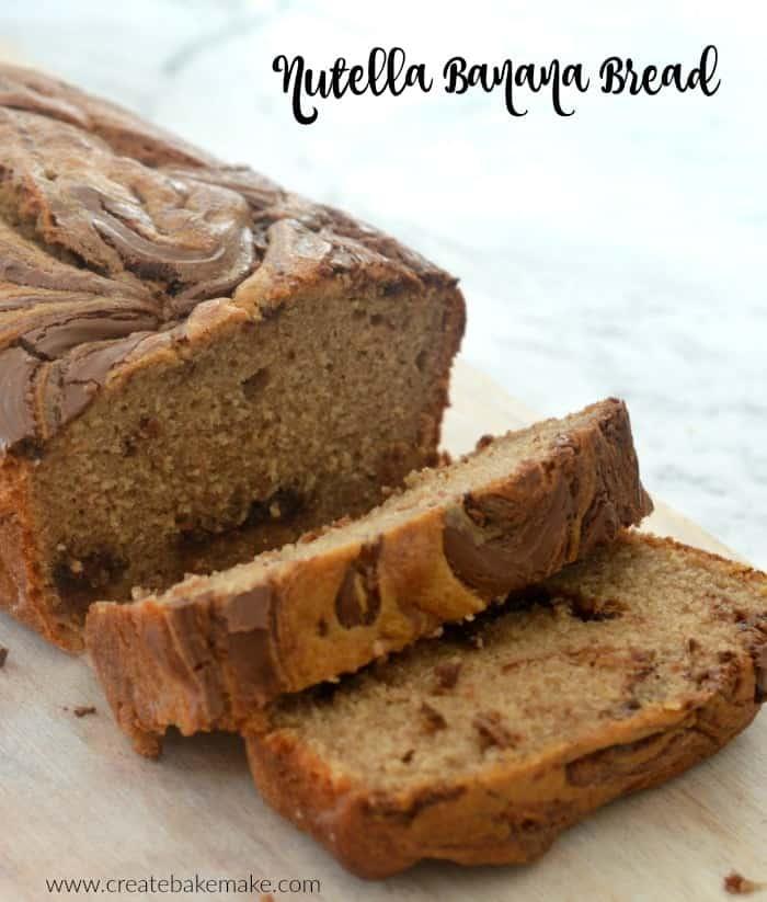 Nutella banana bread recipe create bake make nutella banana bread recipe forumfinder Gallery