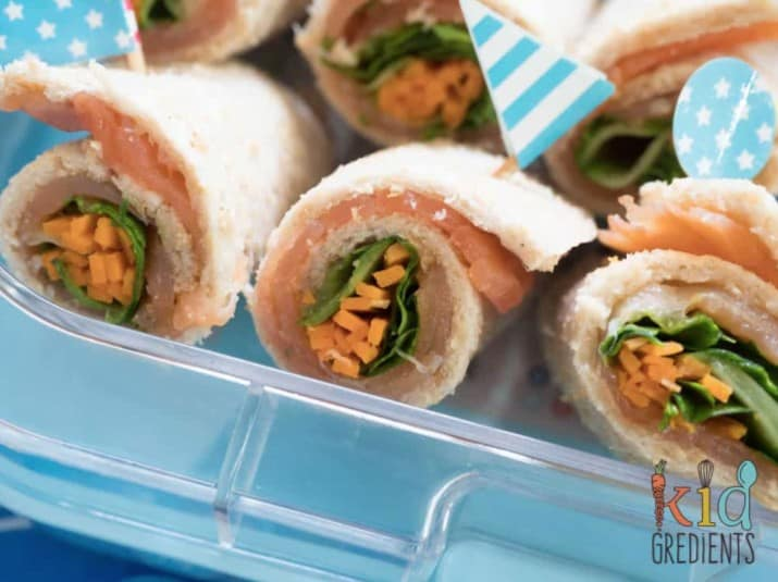 Kids Salmon Sushi