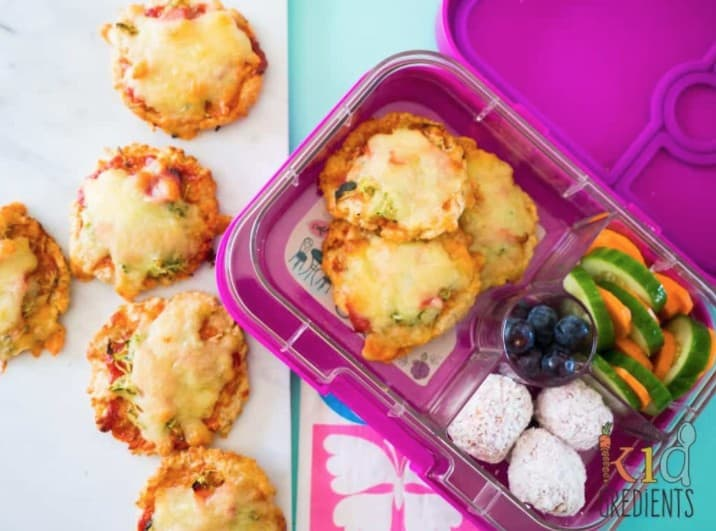 Kids Gluten Free Mini Pizzas