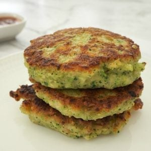 Broccoli Bacon and Cheese Fritters