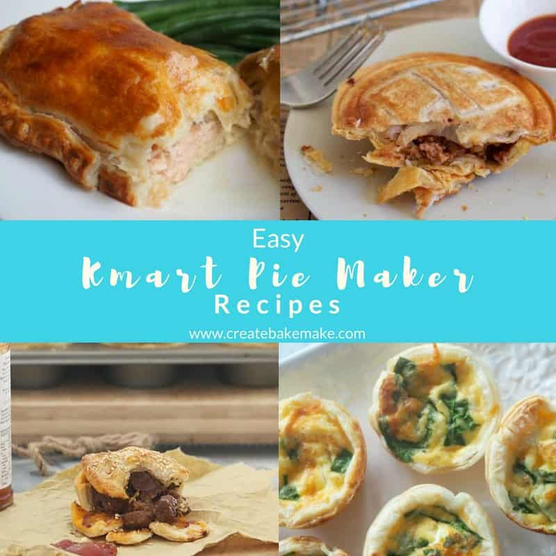 Kmart Pie Maker Recipes Ideas
