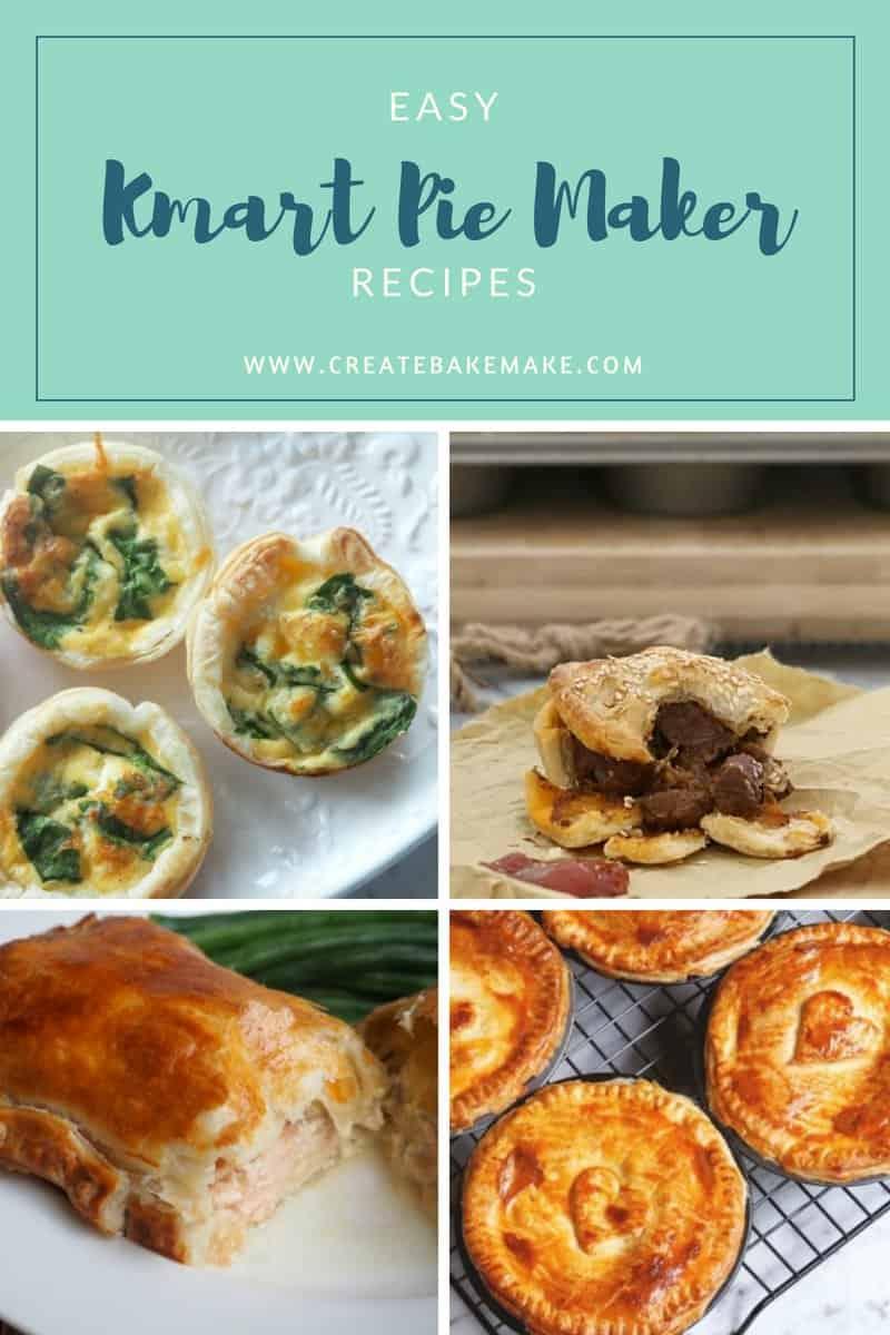 easy Kmart Pie Maker recipes