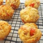 Ham Cheese and Tomato Muffin Recipe with Thermomix instructions also included.