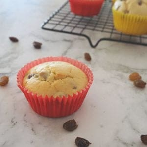 Easy Orange and Sultana Muffins. A great lunchbox snack, freezer friendly and Thermomix instructions also included.