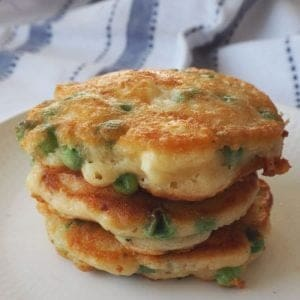 How to make Pea and Feta Fritters - An easy Pea and Feta Fritters recipe