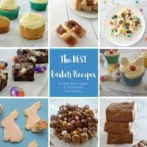 The Best Easter Recipes - both regular and Thermomix instructions included.