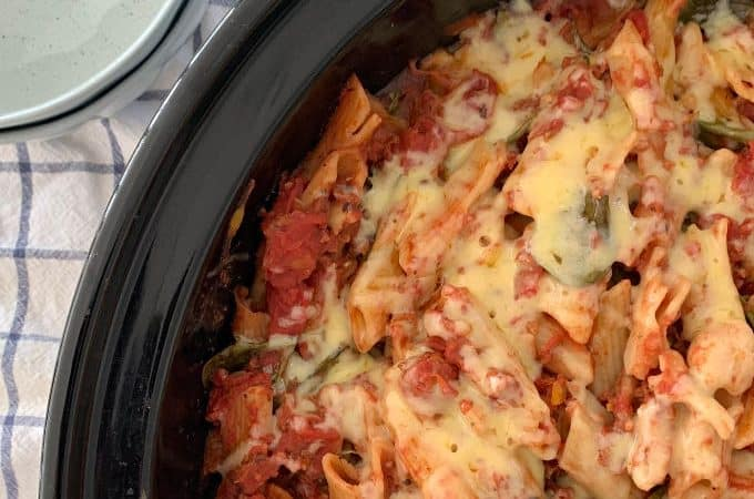 Slow Cooker Pasta Bake Recipe