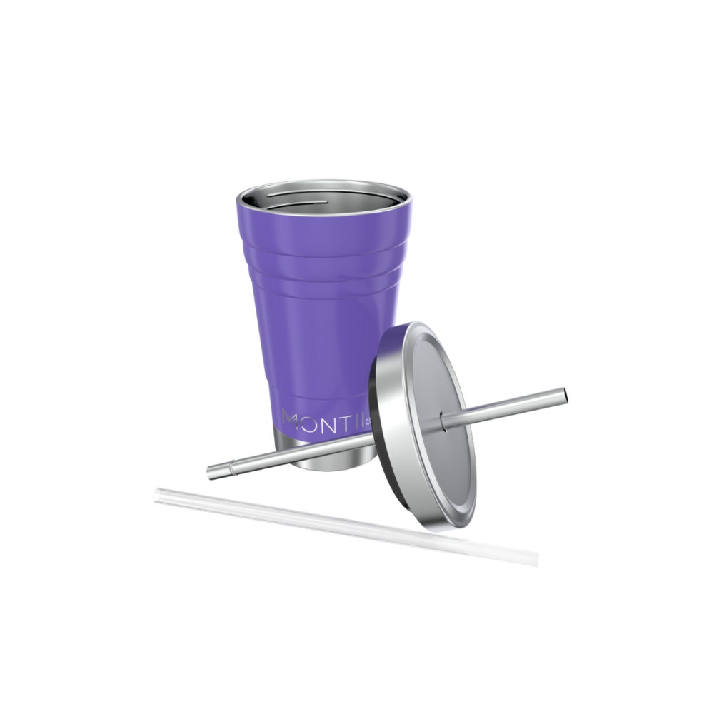Buy MontiiCo Mini Smoothie Cups Purple
