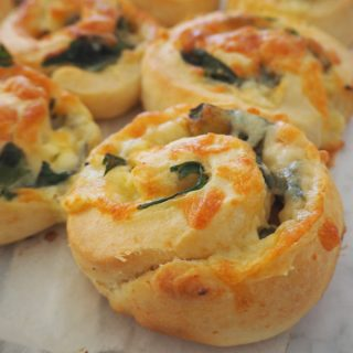Spinach and Cheese Scrolls