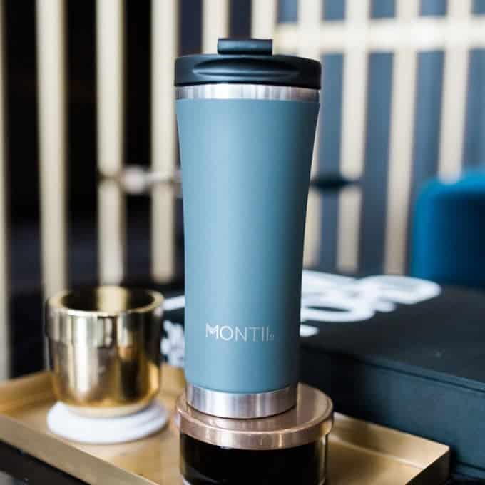 MontiiCo Grey Reuseable Coffee Cup