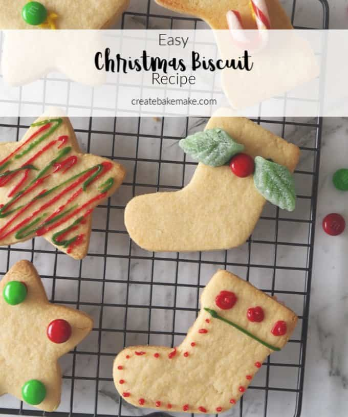 How to Make Christmas Cut Out Biscuits for Decorating