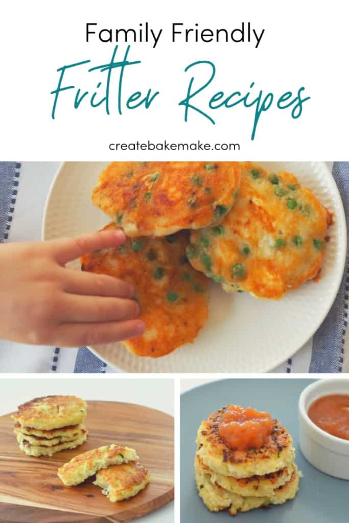 Family friendly fritter recipes