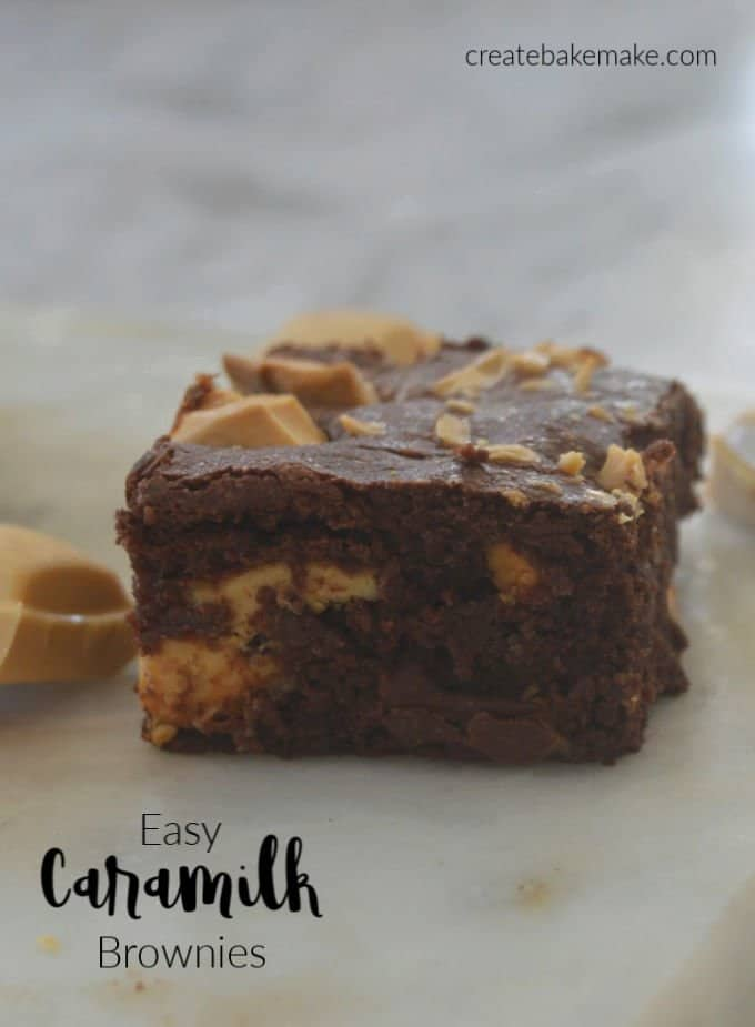 Easy Caramilk Brownies Recipe