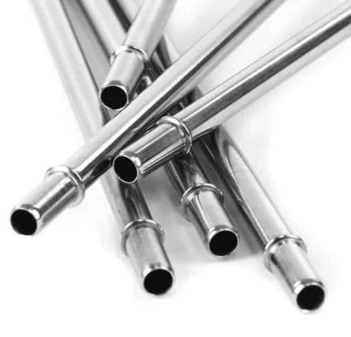MontiiCo Stainless Steel Straw Set of Two