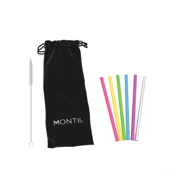 MontiiCo Mini Straw Set