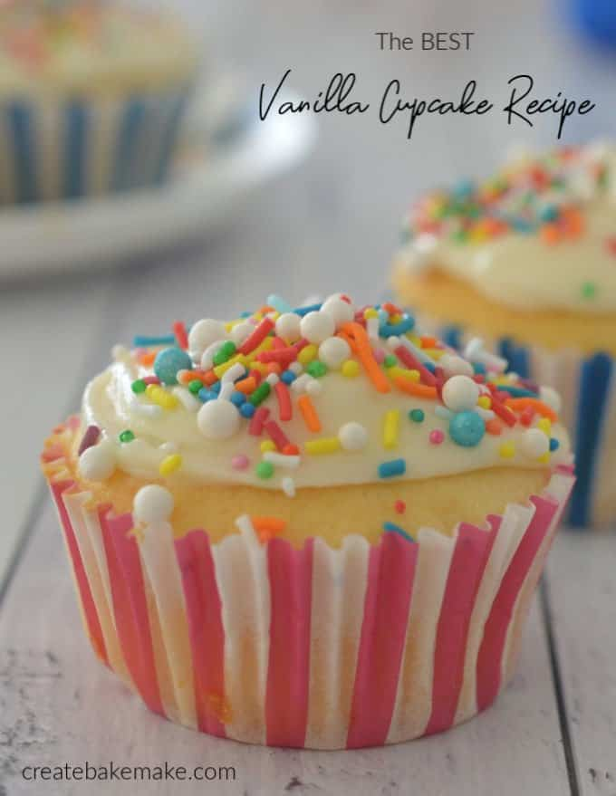 The Best Vanilla Cupcake Recipe - both regular and Thermomix instructions included.