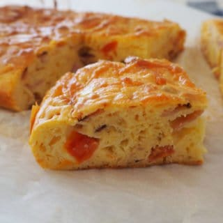 Ham cheese and Tomato Slice Recipe
