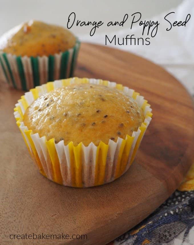Orange and Poppy Seed Muffins Recipe