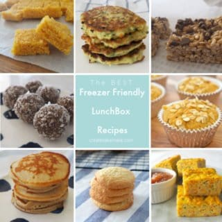 All 20 of these lunchbox snacks are freezer friendly and can also be made using a Thermomix. #thermomix #lunchbox #lunchboxrecipes #kidsfood