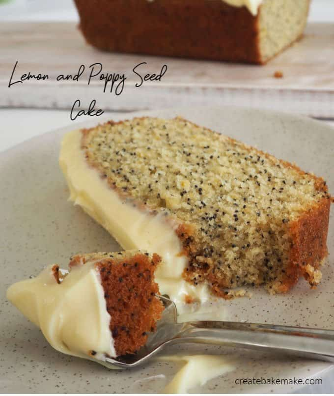 Easy Lemon and Poppy Seed Cake with both regular and Thermomix instructions included.