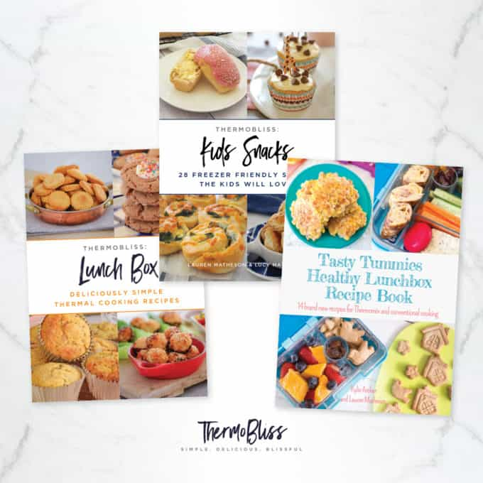 Thermomix Kids Snacks Recipes 3 Book Bundle