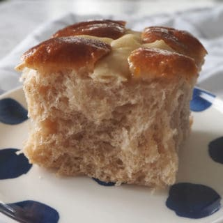 Fruitless Hot Cross Bun Recipe