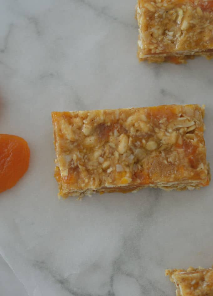 This easy No Bake Apricot Muesli Bar recipe is simple to make.