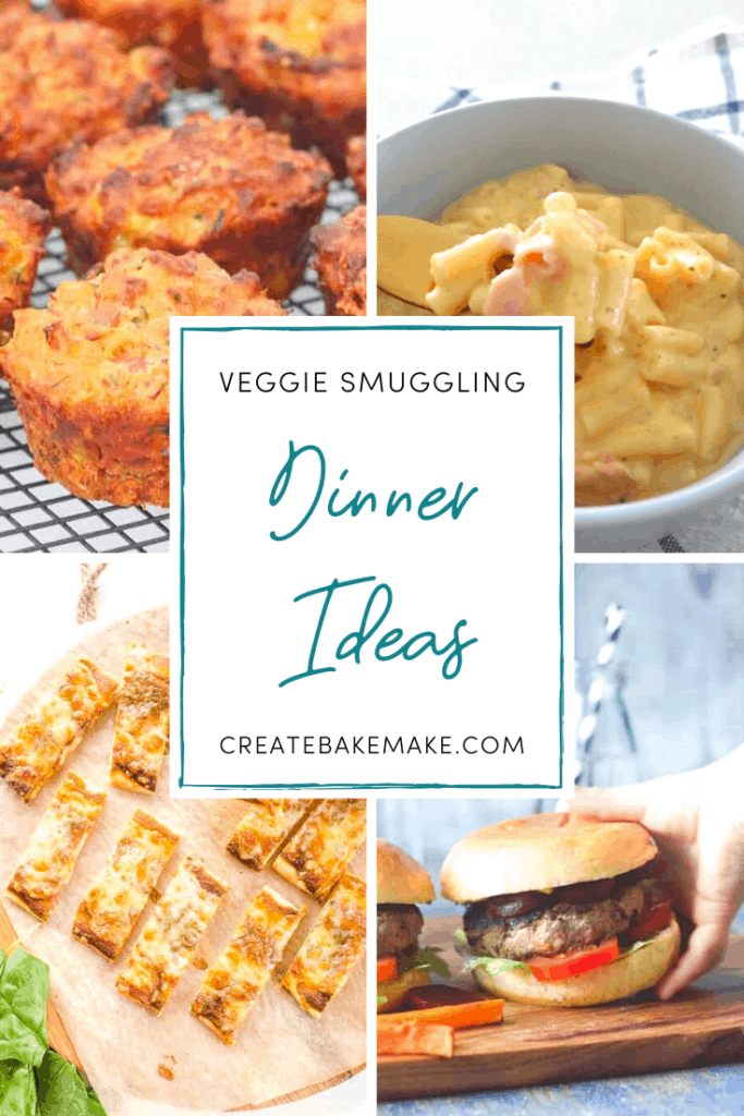 Veggie Smuggle Dinner Ideas to bring to the table.