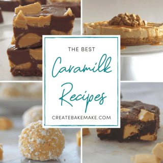 Caramilk Recipes Collage