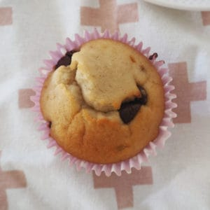 Banana and Chocolate Chip Muffins Recipe. A simple snack that includes both regular and Thermomix instructions