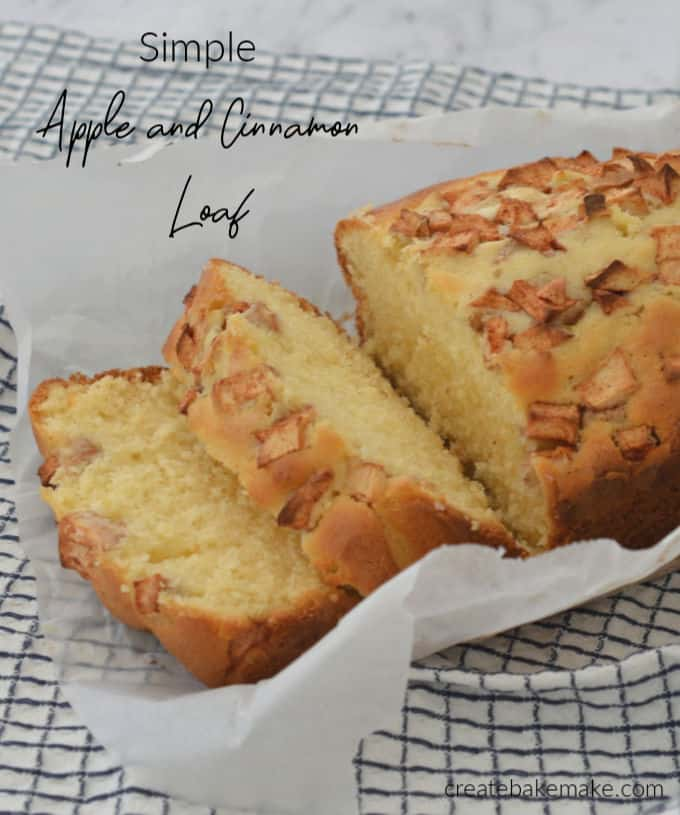 Side View of Apple Loaf