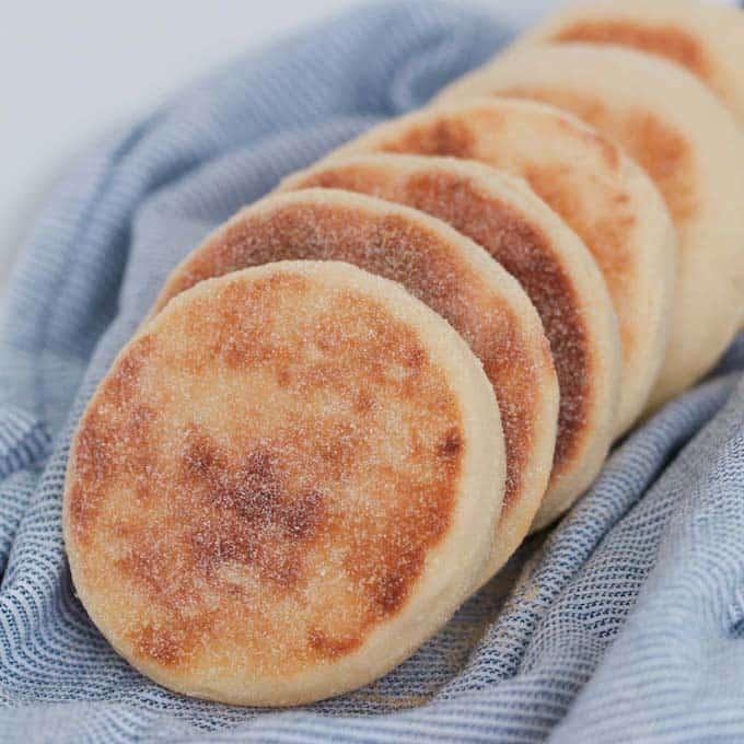Thermomix English Muffins