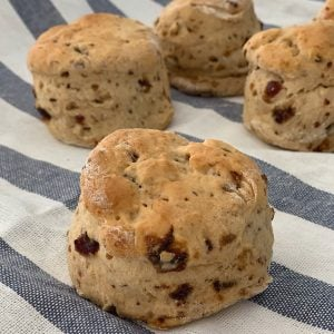 Date Scones Side View