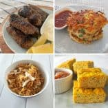 Collage of Budget Dinner Recipes