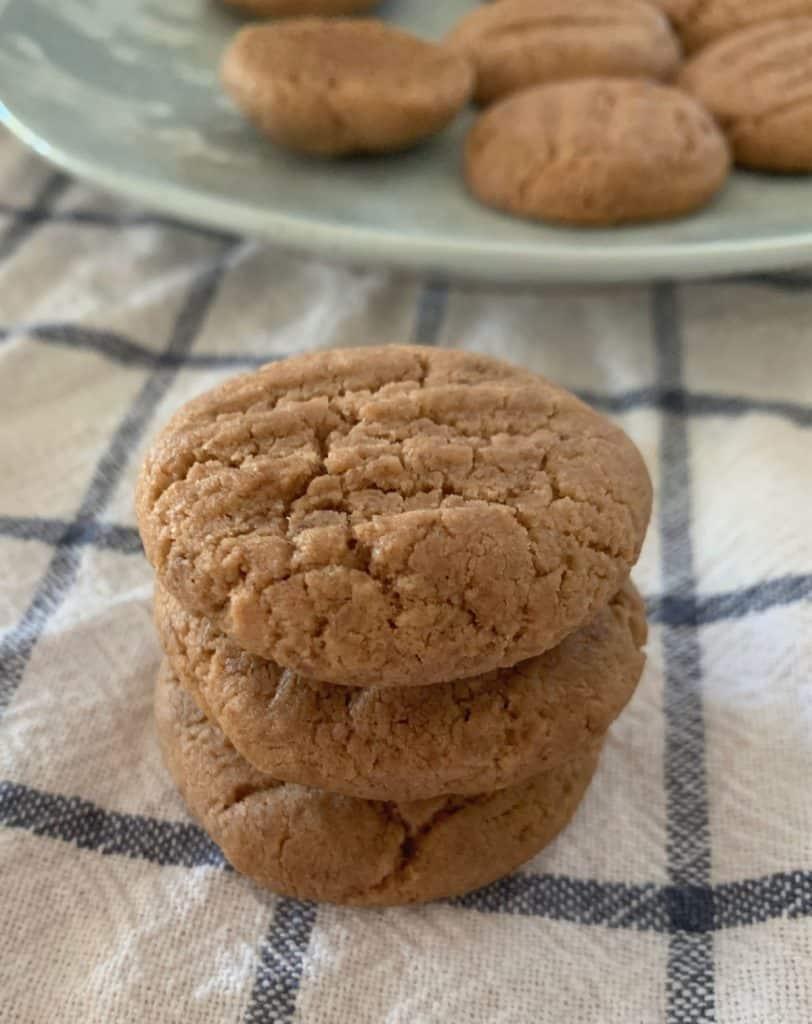 Stack of milo biscuits