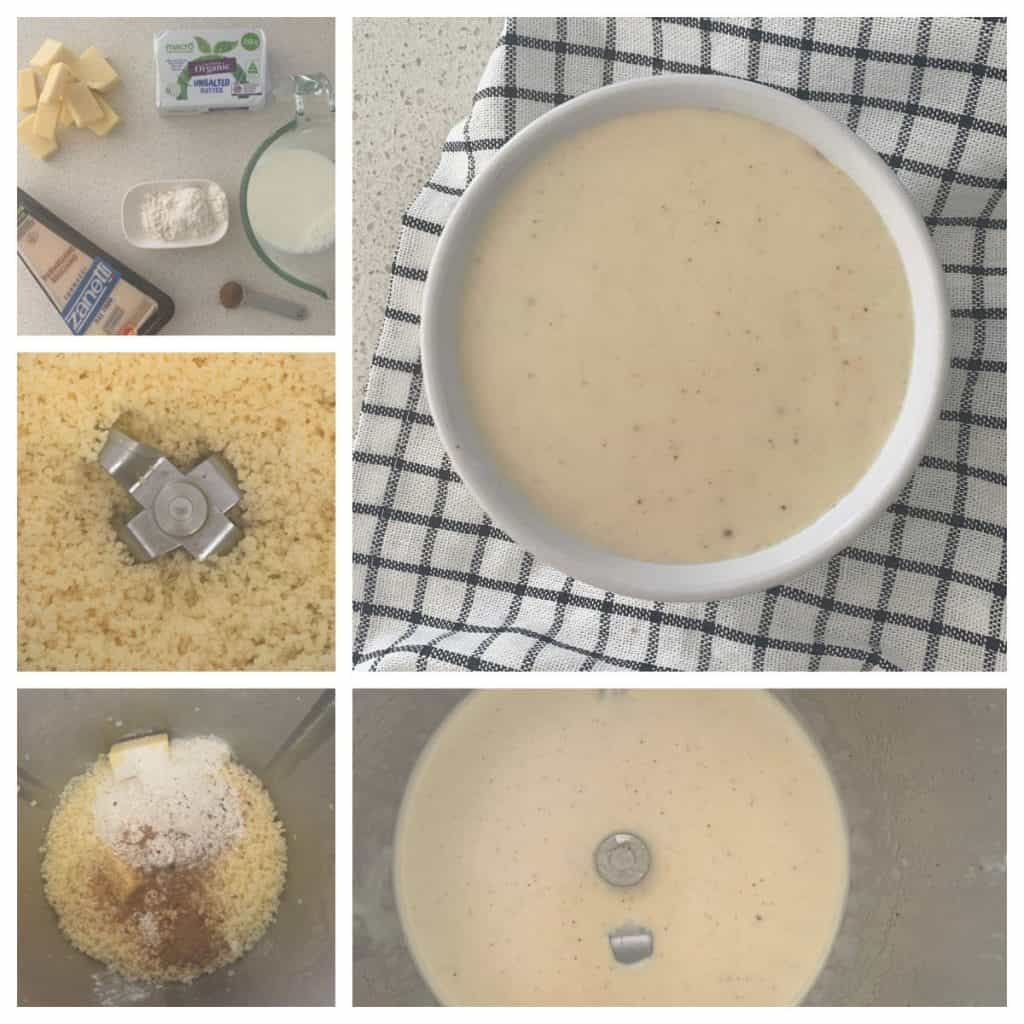Steps to make cheese sauce