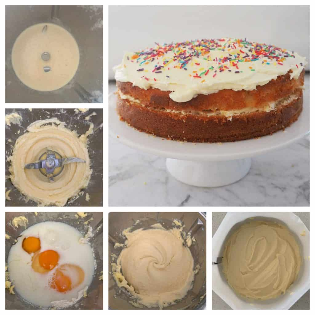 steps to make a Butter Cake