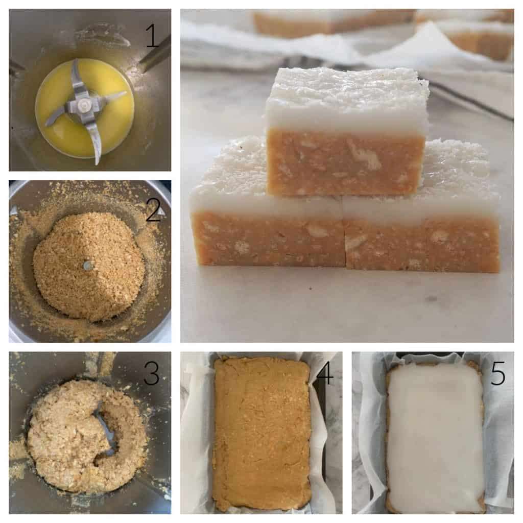 Step by Step photos of how to make lemon slice