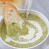 Creamy Zucchini Soup in a mug